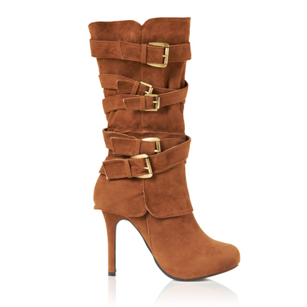 fd298ba4f88e Brown High Heel Boots On Sale - 50% Off Your 1st Order
