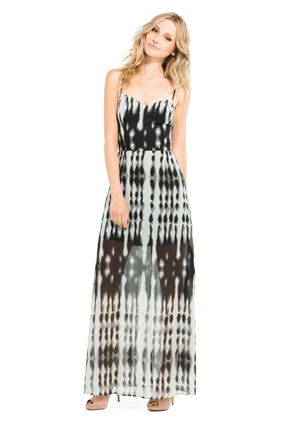 61846bac5238 Madison Maxi in Black White - Get great deals at JustFab