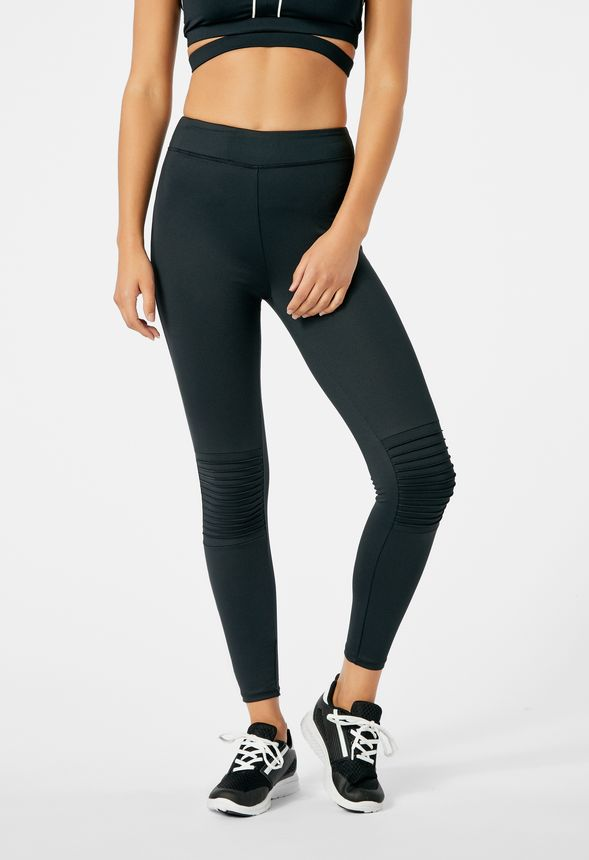 5f86588d39e26 Active Moto Leggings in Black - Get great deals at JustFab