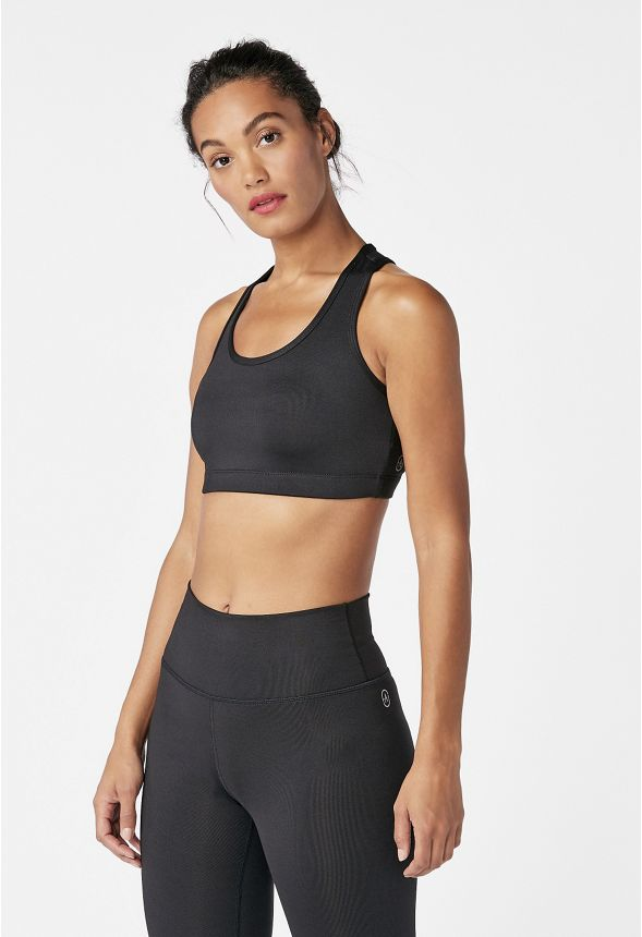 ab016c5b51e0 Active Sports Bra in Black - Get great deals at JustFab