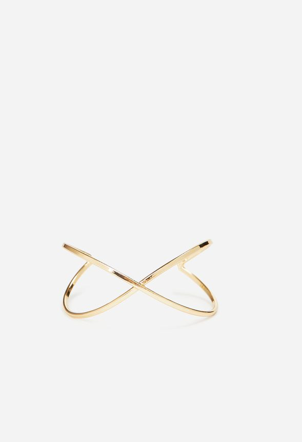 Marks The Spot Bracelet in Gold - Get great deals at JustFab