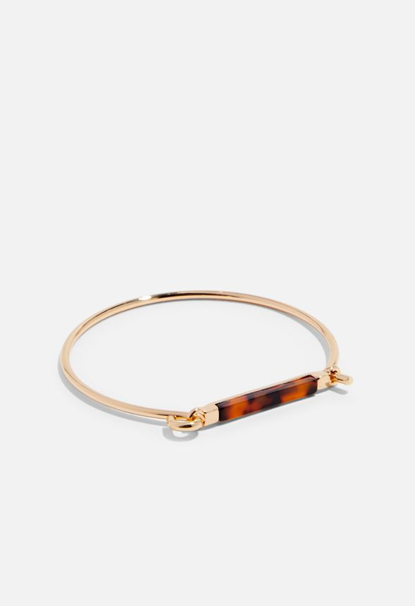 Tort Bracelet Accessories in GOLD - Get great deals at JustFab