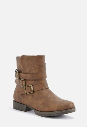 14268f039dc Faux Leather Boots for Women On Sale - First Style for  10!
