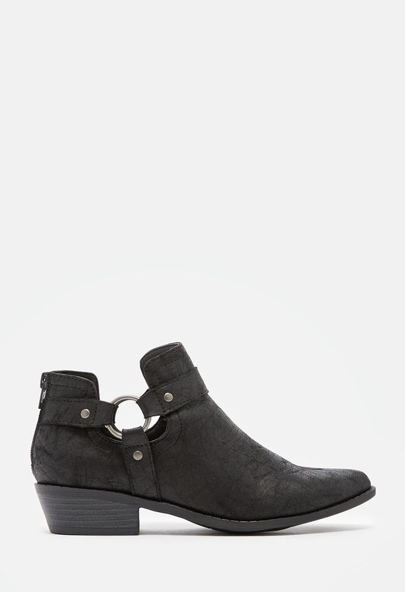 Women's Black Ankle Boots - On Sale - Buy 1 Get 1 Free for New ...