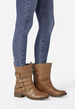 7142c1d56cd4 Piper Thigh-High Combat Boot in Dark Grey - Get great deals at JustFab