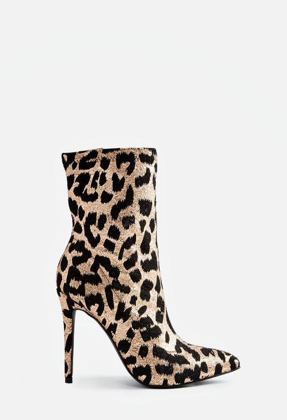 aa58ab85fc4 Shylan Bootie in Leopard - Get great deals at JustFab