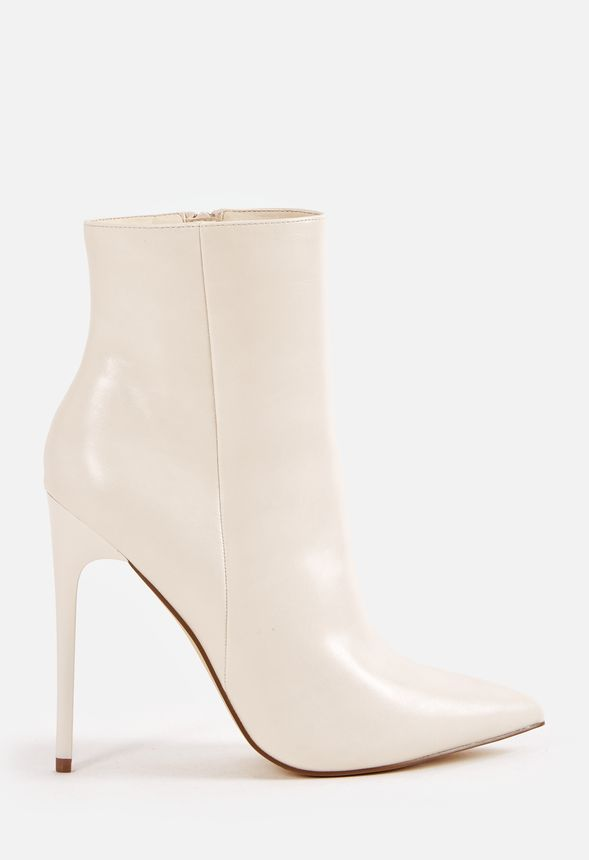 0a58d5fb151 Delphyne Bootie in White - Get great deals at JustFab