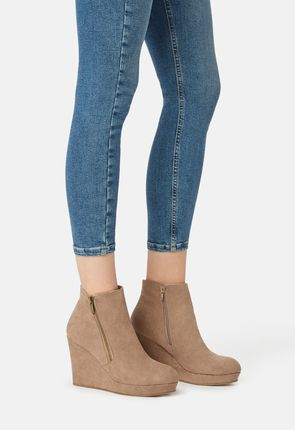 869796eed33 Cheap Wedge Booties for Women - Buy 1 Get 1 Free for New Members!