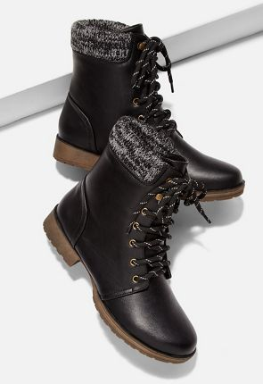 05246d9c792a Cheap Combat Boots for Women On Sale - First Style Only  10!