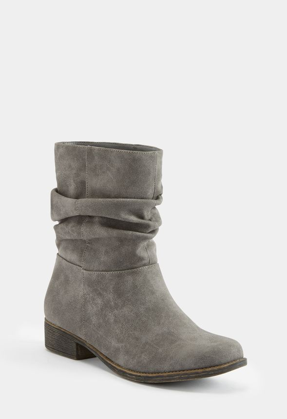 fdbde3fd7cc Tilly Slouch Boot in Gray - Get great deals at JustFab