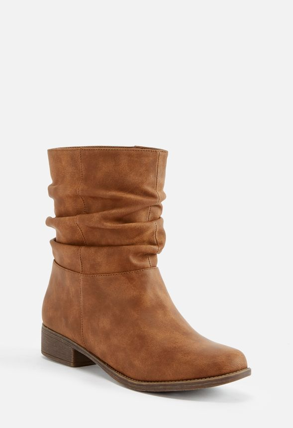 e6fa12603f6 Tilly Slouch Boot in Cognac - Get great deals at JustFab