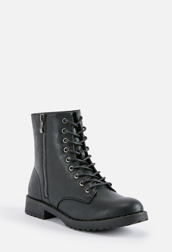 529217b5b86e Corrie Lace-Up Boot in Black - Get great deals at JustFab