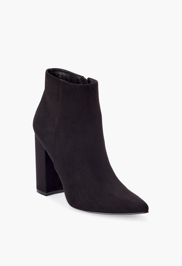 Rosamund Block Heel Bootie in Black