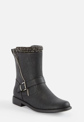 Womens Black Flat Boots On Sale 50 Off Your 1st Order