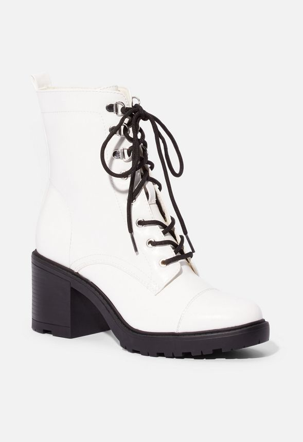 Syd Lace-Up Heeled Boot in Syd Lace-Up
