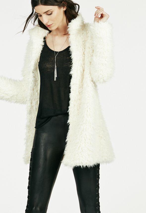a9deacf42b3 Long Faux Fur Coat in Long Faux Fur Coat - Get great deals at JustFab