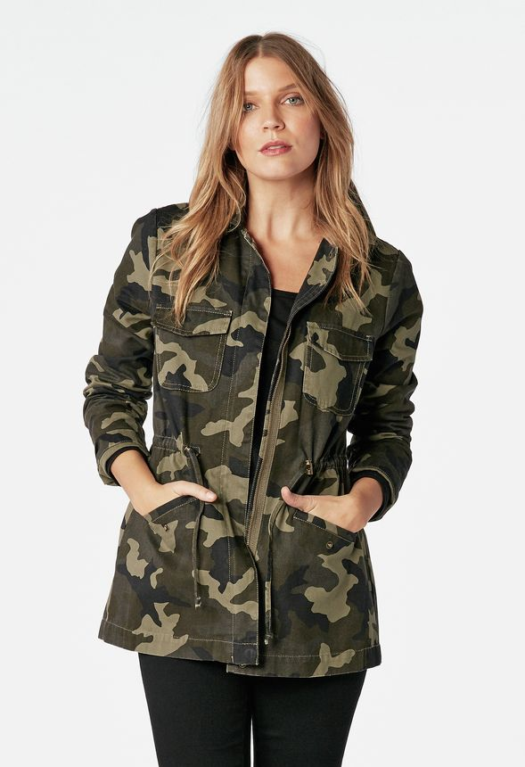 78c4e6f1144 Camo Jacket in camo print - Get great deals at JustFab
