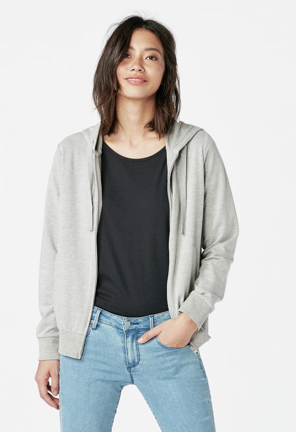 2bccdd7fa5 Everyday Hoodie in LIGHT HEATHER GREY - Get great deals at JustFab