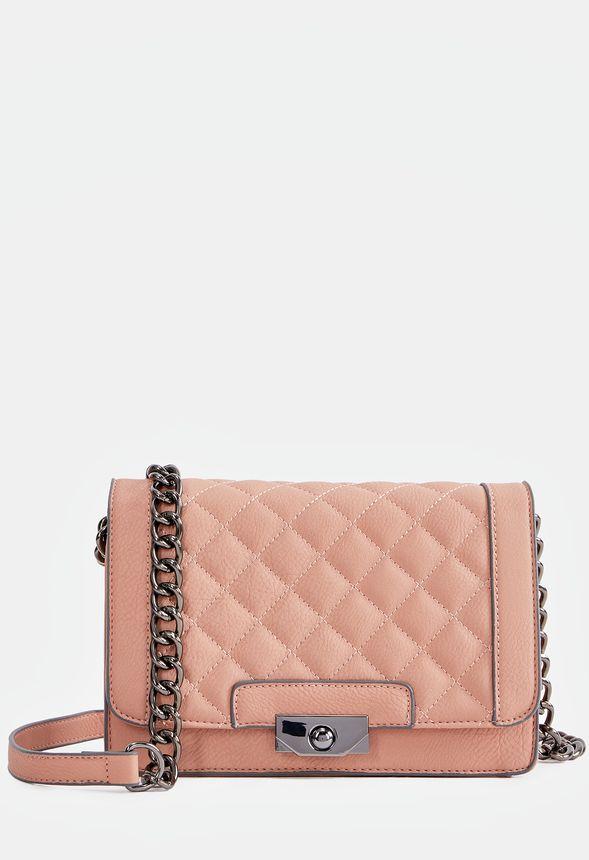4475b72a0a5a Talon Crossbody Bag in Blush - Get great deals at JustFab