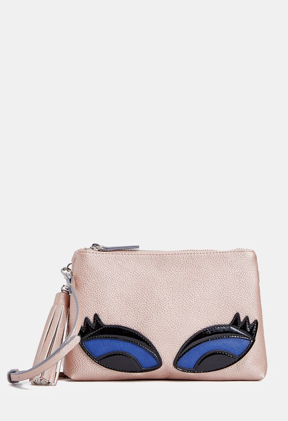 63e10bd514f Floyd Crossbody Bag in Rose Gold - Get great deals at JustFab