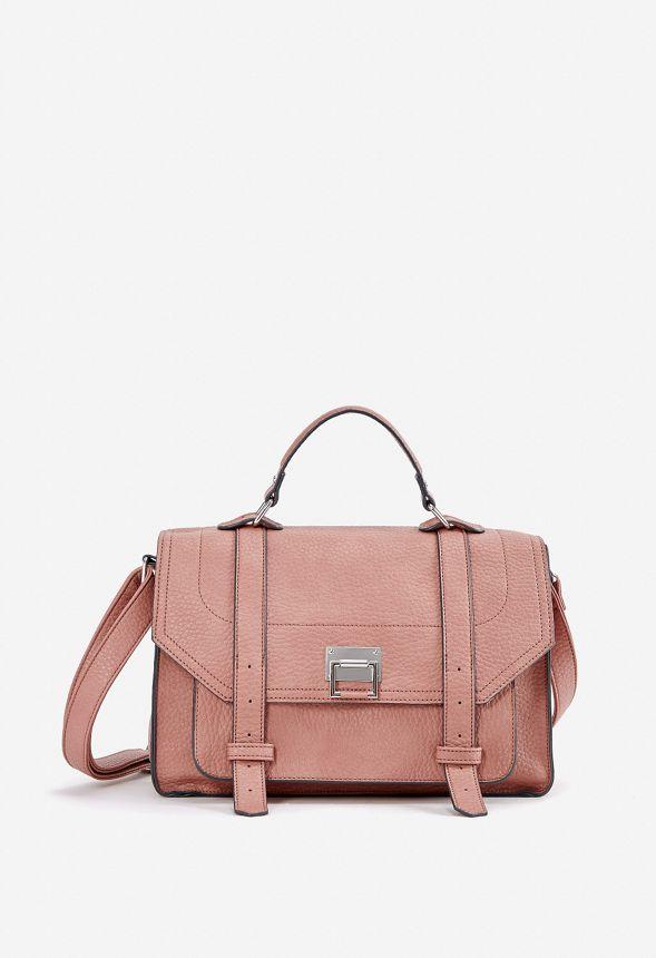cf4987a3351c Pablo Classic Crossbody Bag in Mauve - Get great deals at JustFab