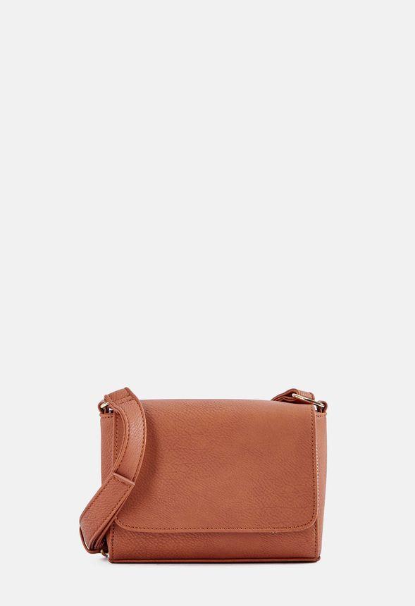 273fda43e7f3 So Mod Crossbody Bag in Cognac - Get great deals at JustFab