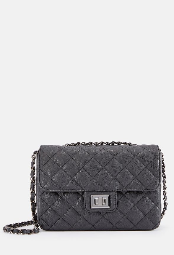 Evening Soiree Crossbody Bag in Black - Get great deals at JustFab a560d31660dc7