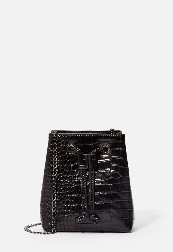 833d69a3e7f Savvy Traveler Convertible Belt Bag Crossbody Bag in Black - Get great  deals at JustFab