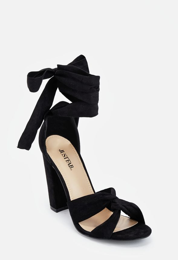7010bf6afbd Acacia Heeled Sandal in Black - Get great deals at JustFab