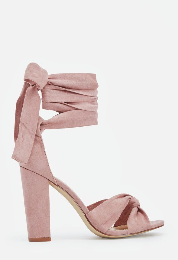 5f7e313d0e7 Acacia Heeled Sandal in Blush - Get great deals at JustFab