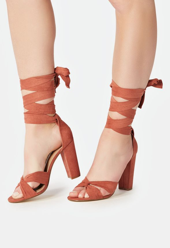 eb3516dc1f9 Acacia Heeled Sandal in Rosette - Get great deals at JustFab