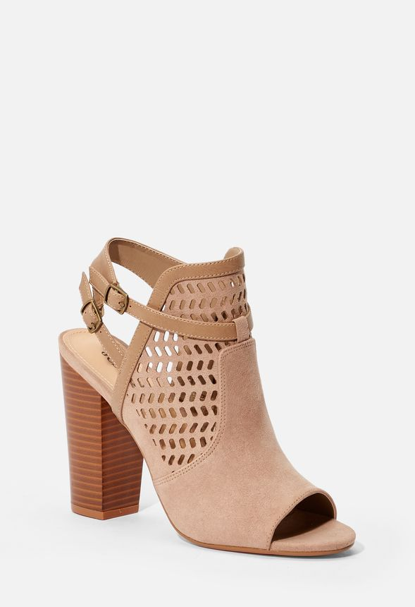 a0e807ee9c Kessie Cutout Bootie in Taupe - Get great deals at JustFab