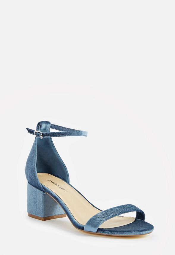485134bc0f6 Sanoura Heeled Sandal in Blue - Get great deals at JustFab