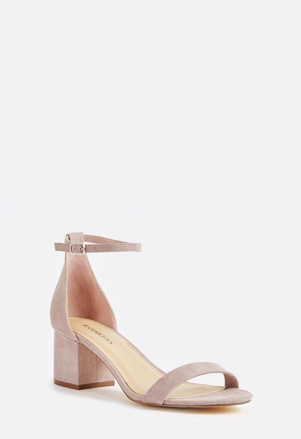 af0d4175e5a Sanoura Heeled Sandal in Lilac - Get great deals at JustFab