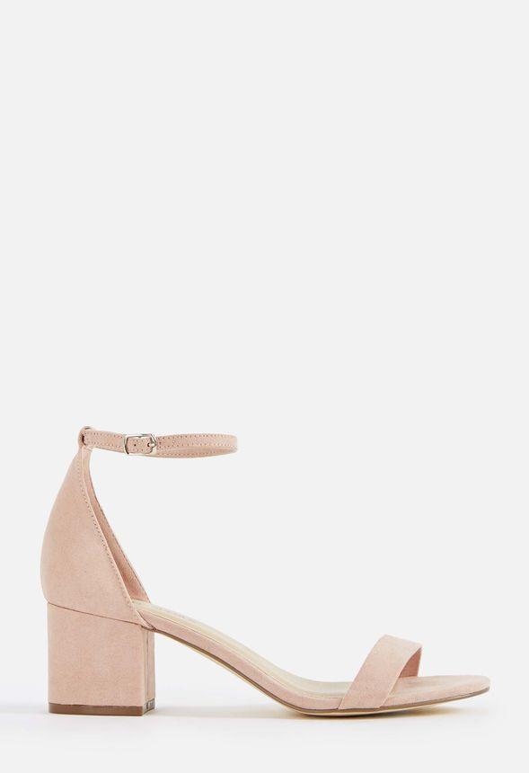 Sanoura Heeled Sandal in Blush - Get