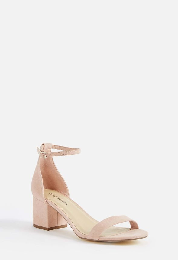 83be7a09811 Sanoura Heeled Sandal in Blush - Get great deals at JustFab