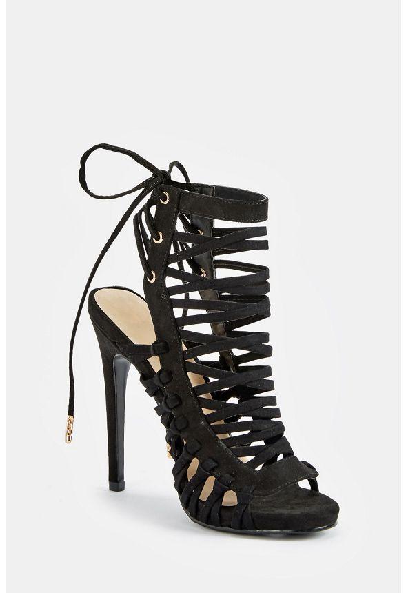 cc2e567bc58 Andreja Heeled Sandal in Black - Get great deals at JustFab
