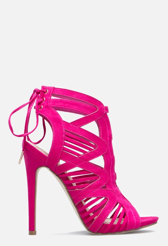 5f26f27acd43 SARAI HEELED SANDAL in Hot Pink - Get great deals at JustFab