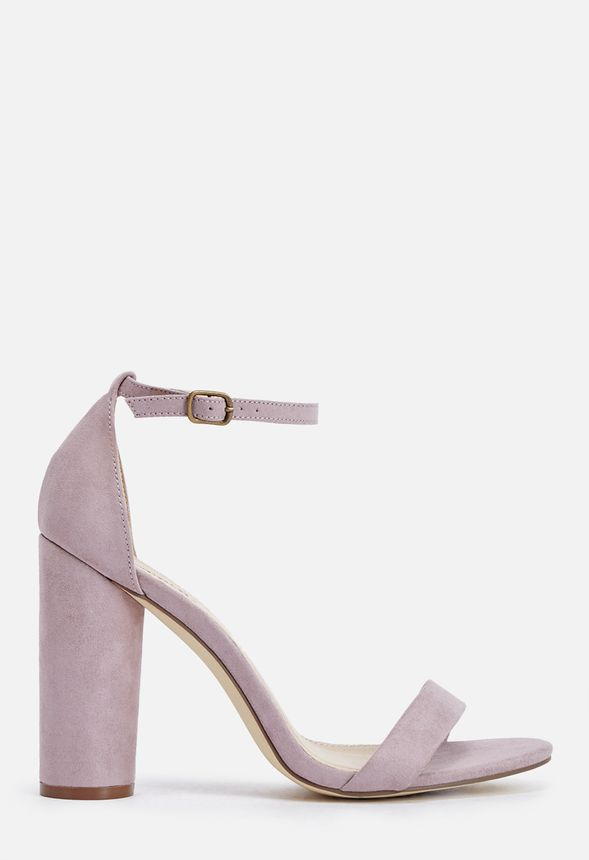 41510389203e Elena Heeled Sandal in Lilac - Get great deals at JustFab