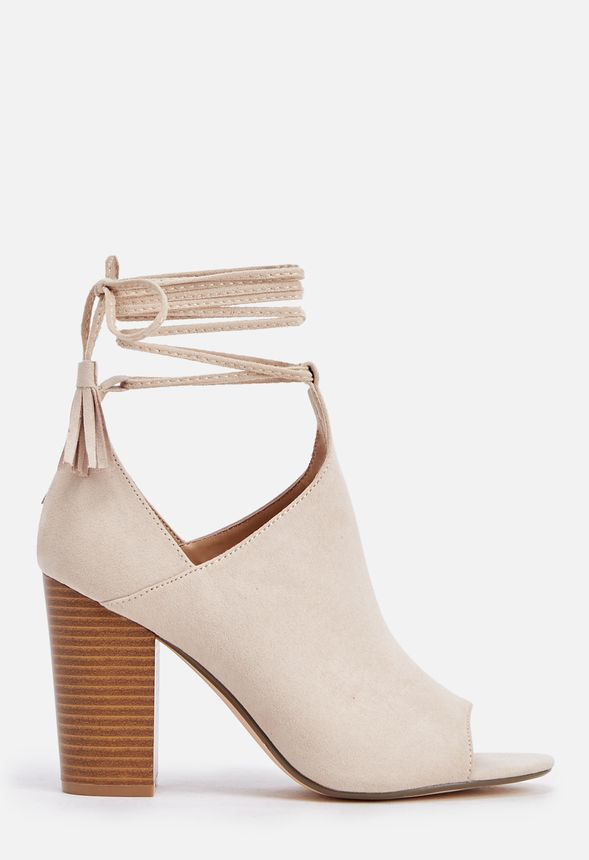 72a628d71a69 Mary-Kate Heeled Sandal in Sand - Get great deals at JustFab