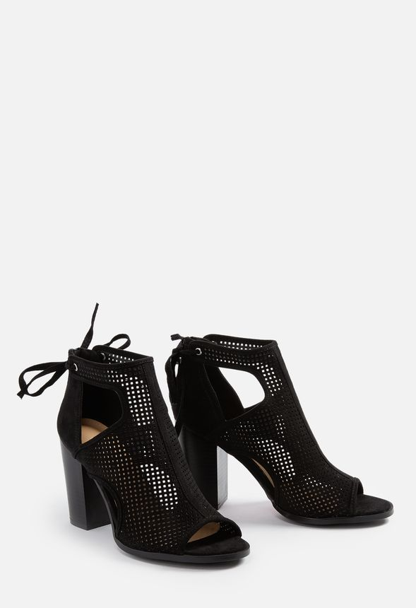 6365aaf4e8cd Aubrie Heeled Sandal in Black - Get great deals at JustFab