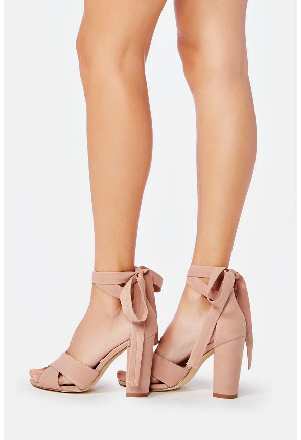 ba14d2602330e2 Rozalia Heeled Sandal in Blush - Get great deals at JustFab