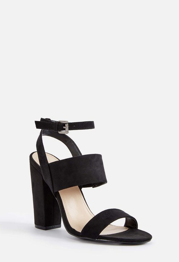 eaa2108d920 Perenna Heeled Sandal in Black - Get great deals at JustFab