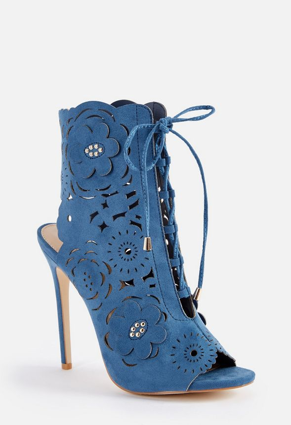 0d0b053ffb96 Nicia Heeled Sandal in Blue - Get great deals at JustFab