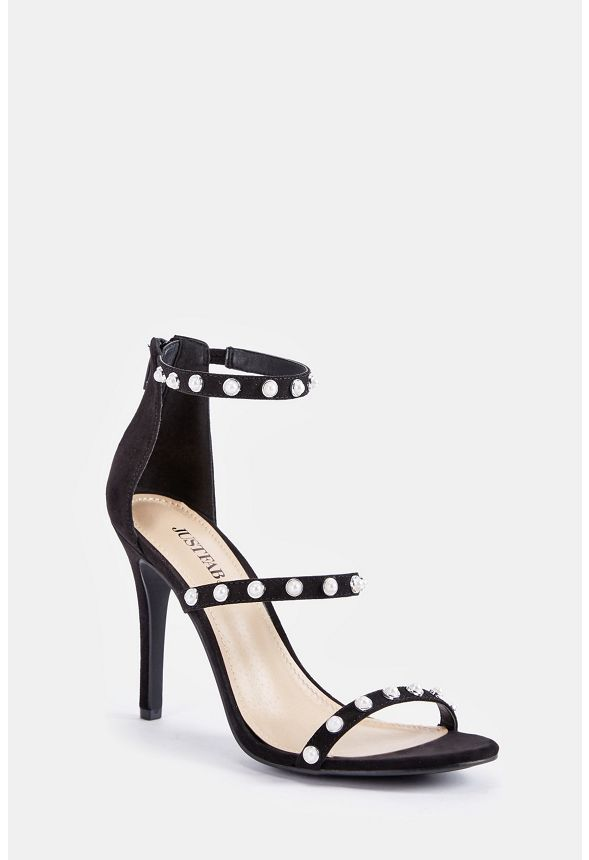 883d4513ae4 Ellory Dressy Heeled Sandal in Black - Get great deals at JustFab