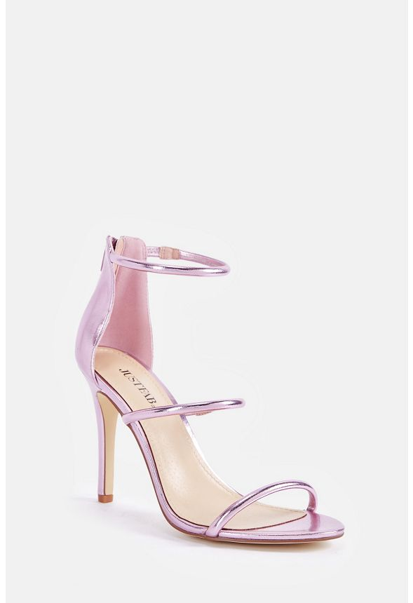 cd39012cf7980 Ellory Dressy Heeled Sandal in PINK METALLIC - Get great deals at ...