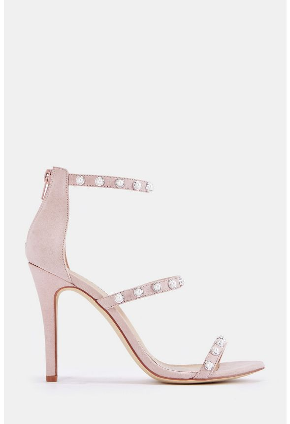 ac65e2a8d0133 Ellory Dressy Heeled Sandal in Blush - Get great deals at JustFab