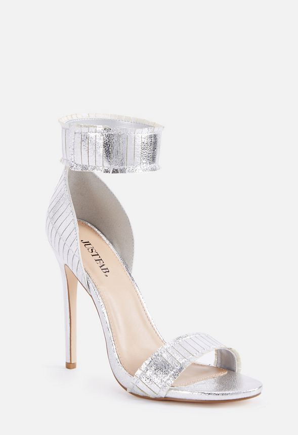 c391eeecb9 Sehra Dressy Heeled Sandal in Silver - Get great deals at JustFab