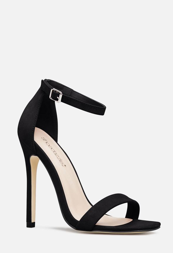 e14e5ebf7f0 Pinky Promise Heeled Sandal in Black - Get great deals at JustFab