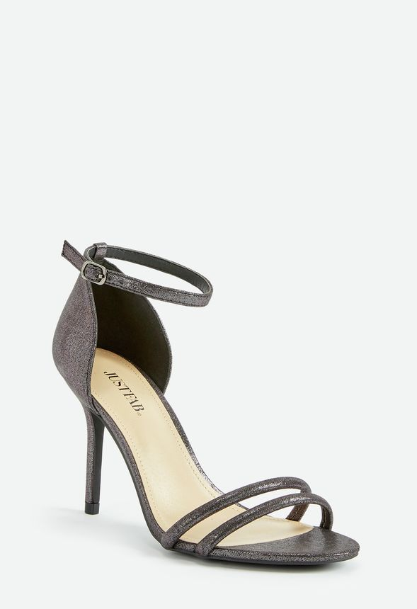 40fa98aeb Nights to Remember Evening Heeled Sandal in Pewter - Get great deals ...